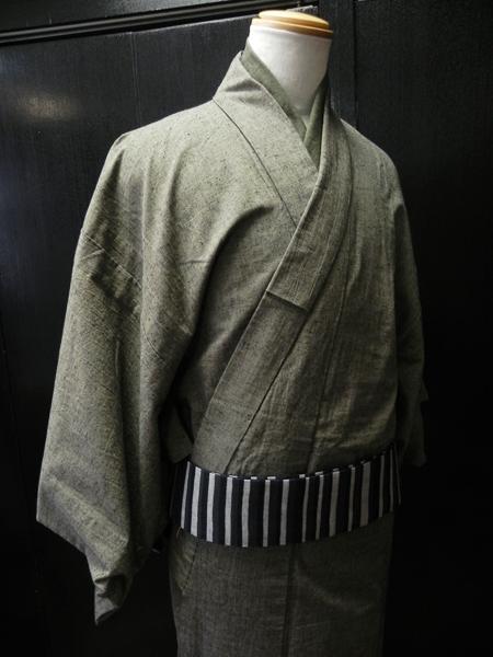 古布紬木綿着物