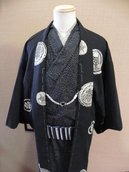匠シリーズ木綿羽織「家紋」