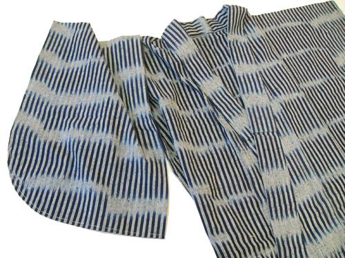 藍染木綿着物プレタサンプル[BAN_001]