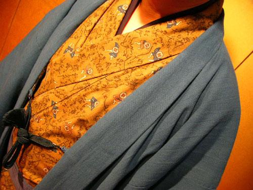 あずみ野木綿羽織(袷仕立て/裏地付)
