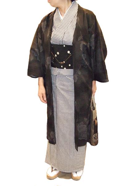 CE木綿単衣羽織(春夏用)