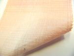 先染木綿「ぼかし縞格子(桃色)/OL102A」