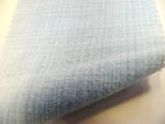 先染木綿「ぼかし縞格子(白藍色)/OL102C」