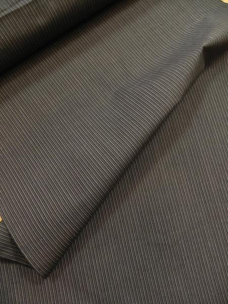 [EDO DESIGN]木綿着物「細縞/黒系」