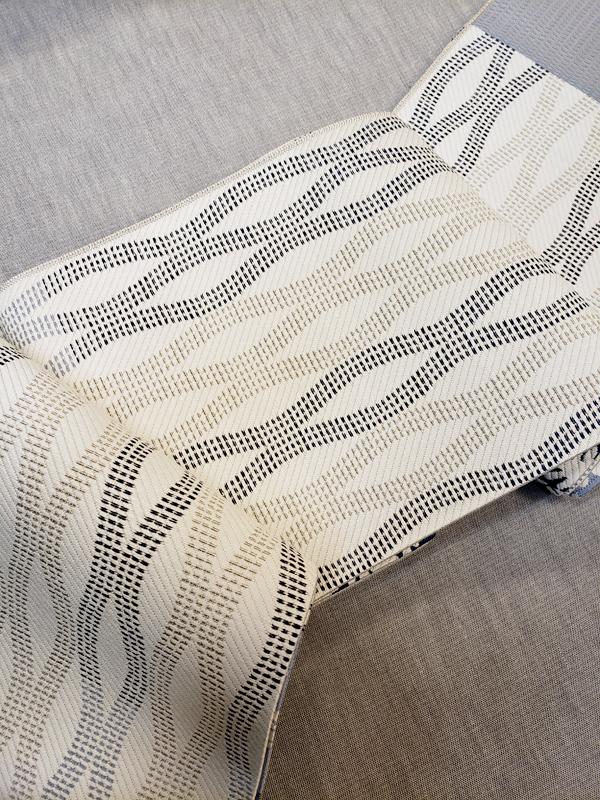 博多織正絹細帯(リバーシブル)