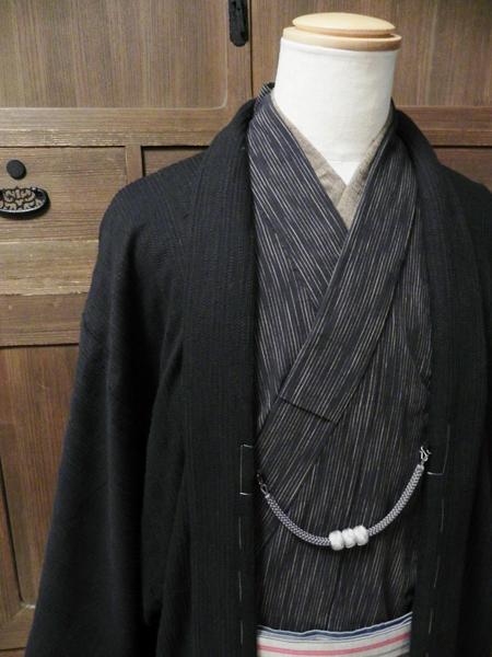 コットンウール羽織(ピケドビー織)