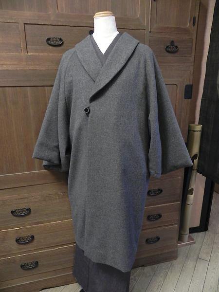 和装レディースコート(ヘチマ衿)