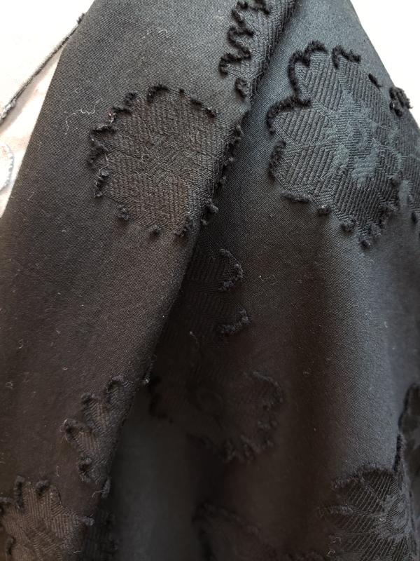コットンジャガード織羽織「菊花」