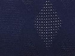パナマジャガード(繁菱)color19「藍紺あいこん」
