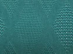 パナマジャガード(繁菱)color77「青緑 あおみどり」