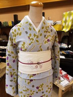 春夏木綿「烏瓜/Karasuuri」
