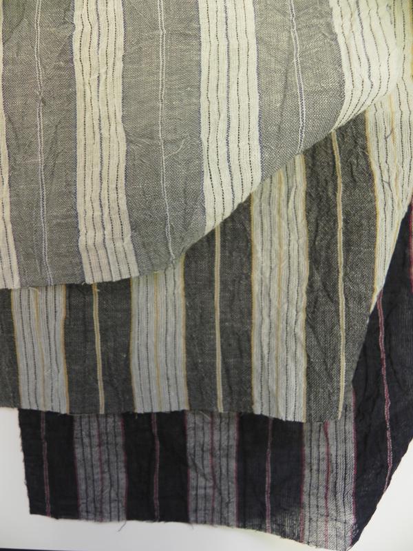 綿麻着物「(縞)変わり薩摩」color.3パターン