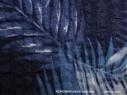 Cotton Haori[Fern」color.B(Navyblue)