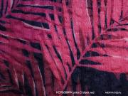 Cotton Haori[Fern」color.C(Blackpink)