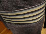 唐桟縞木綿角帯