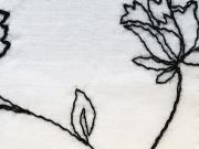 コットンキモノ「floral Lace」Color_118bk