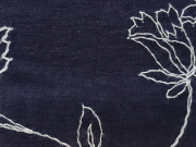コットンキモノ「floral Lace」Color_19wh