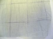 綿麻着物「碁盤格子」color.no10