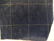 綿麻着物「碁盤格子」color.no20