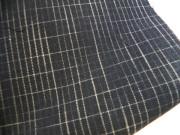 絣格子[M111002_color30/黒]