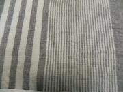 春夏木綿着物/縞&縞color10(薄鼠)