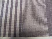 春夏木綿着物/縞&縞color20(赤紫色)