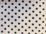 French dot momen kimono「apois] color.140(Navy)