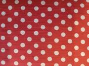 French dot momen kimono「apois] color.160(Red)