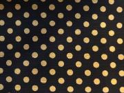 French dot momen kimono「apois] color.70(Black)