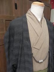先染木綿羽織「流水/Ryusui」