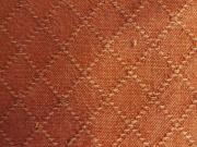 木綿羽織「網目紋」ColorE(赤錆色)