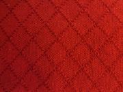 木綿羽織「網目紋」ColorF(茜色)
