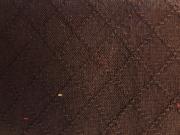 木綿羽織「網目紋」ColorG(黒鳶)