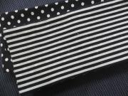 木綿角帯「両面使い/水玉・縞」