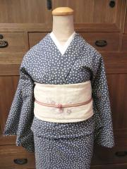 [匠シリーズ/ARARE]霰模様の木綿着物