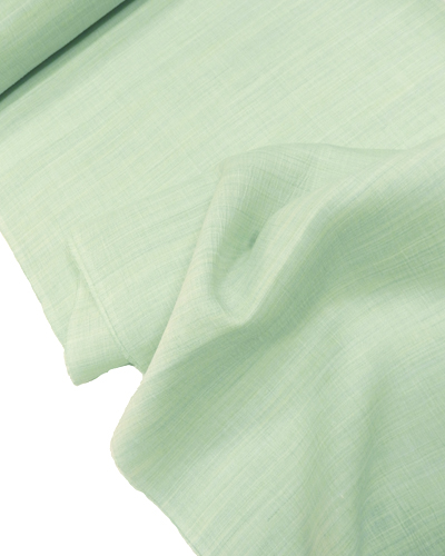 麻楊柳の着物「薄萌木」