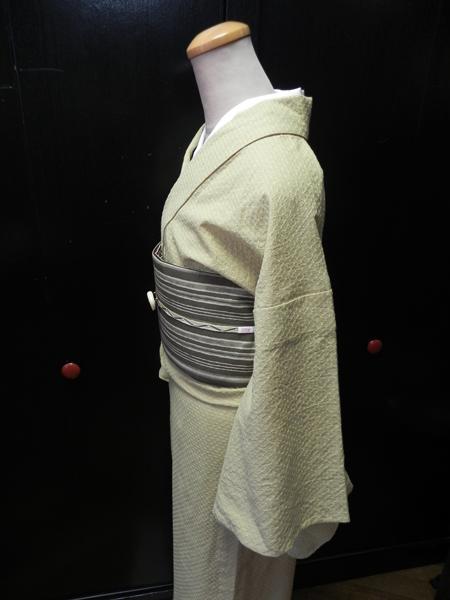 先染織木綿着物「dotspark」