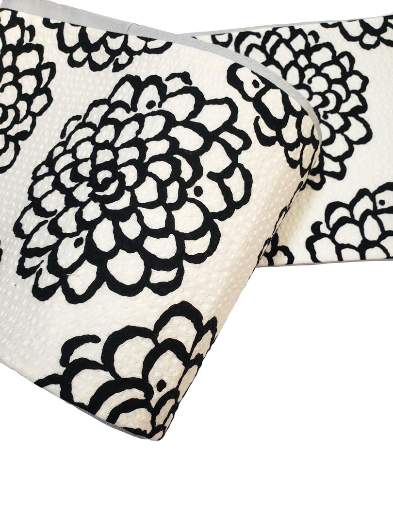 三勝木綿細帯「菊」