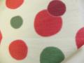 レトロポップな普段着物「しゃぼん玉柄の木綿着物」color40