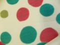 レトロポップな普段着物「しゃぼん玉柄の木綿着物」color10