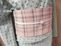 シンプルな木綿半巾帯