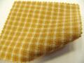 先染木綿「弁慶格子/黄金色」1640C