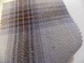 先染木綿「カラフルチェック/パープル」1770C