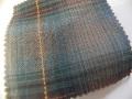 先染木綿「カラフルチェック/ブルー」1770E