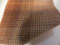 先染木綿「グラデーションチェック/オレンジ」1680D