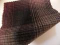 先染木綿「グラデーションチェック/ブラック」1680G