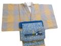 片貝木綿「プレタ木綿着物(単仕立て/居敷当て付き」
