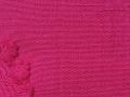 コットンジャガード織羽織「菊花/濃紅/こいくれない」color.50
