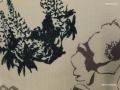 コットン&リネン羽織「アートフラワーNo30」