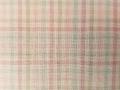 (先染)木綿着物「二重弁慶格子」Color.A(薄桜)